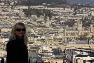 Зимняя поездка в Бат (Bath - название города переводится БАНИ).